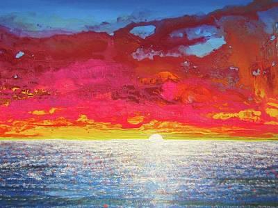 Sea Splendor Poster by Mary Ellen Frazee