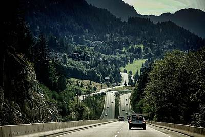 Sea To Sky Highway Poster