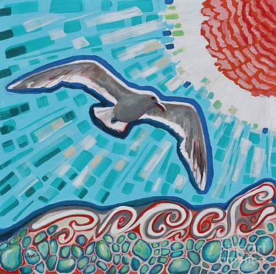 Seaglass Poster by Eve  Wheeler