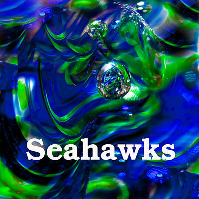 Seahawk Image 1 Poster by David Patterson