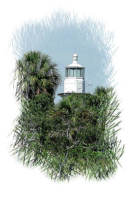 Seahorse Key Light Poster