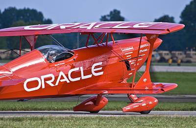 Sean Tucker Team Oracle Poster