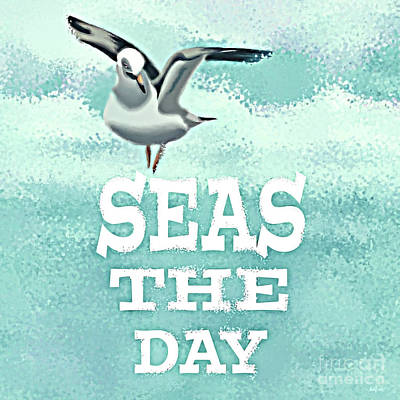 Seas The Day Poster