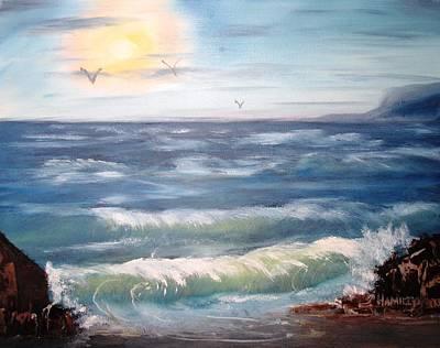 Seascape Study Poster