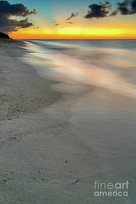 Seascape Sunset Boracay Poster by Adrian Evans