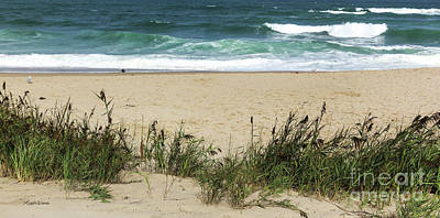 Poster featuring the photograph Seashore Retreat by Michelle Wiarda