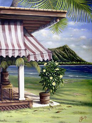 Seaside Hotel Poster