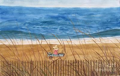Seaside In Massachusetts Poster