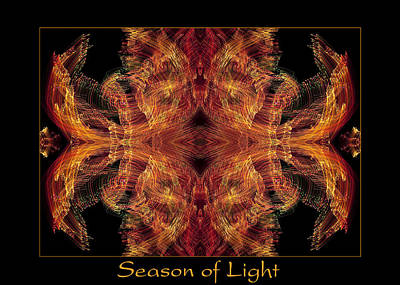Poster featuring the photograph Season Of Light 2 by Bell And Todd