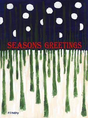 Seasons Greetings 2 Poster by Patrick J Murphy