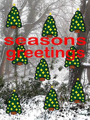 Seasons Greetings 8 Poster by Patrick J Murphy