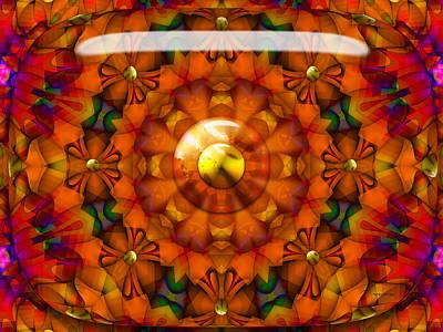 Poster featuring the digital art Seasons by Robert Orinski
