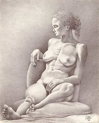 Seated Figure No. 6 Poster