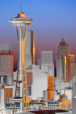Seattle Architecture Poster