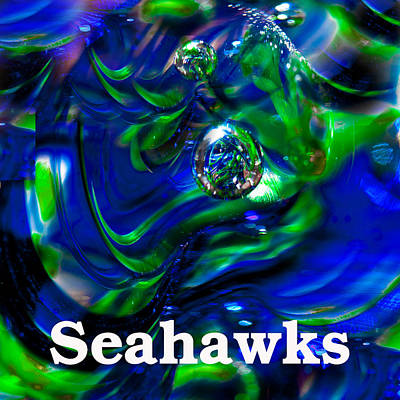 Seattle Seahawks 2 Poster by David Patterson