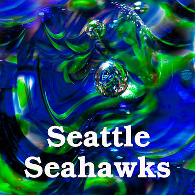 Seattle Seahawks Poster by David Patterson