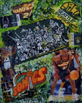 Seattle Sonics Dreams Poster