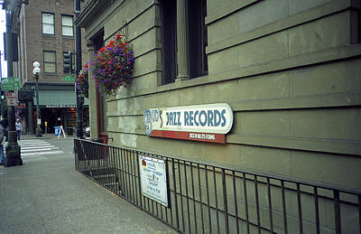 Seattle - Underground Record Store, 2007 Poster