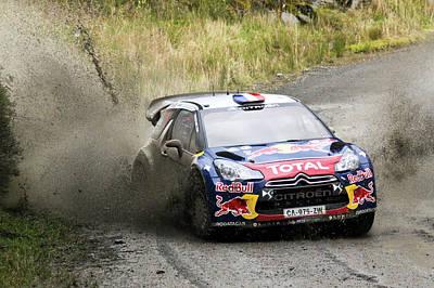 Sebastien Loeb Wrc Rally Gb Poster by Danny Thomas