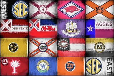 Sec Flags Poster