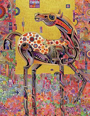Secessionist Horse Poster