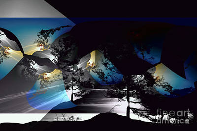 Sechelt Tree 11 Poster by Elaine Hunter
