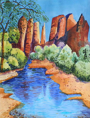 Secluded In Sedona Poster