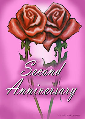Second Anniversary Poster
