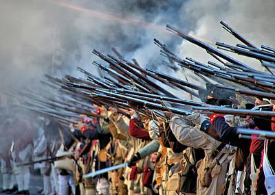 Second Battle Of Trenton Poster by Steven Richman