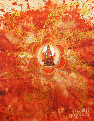 Second Chakra Poster by Joan Doyle