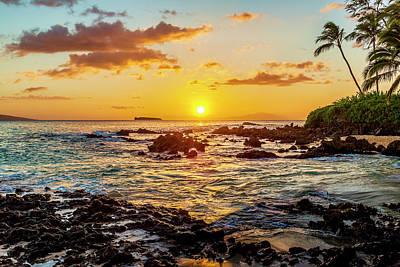 Secret Cove Sunset Poster