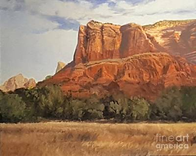 Sedona Afternoon In May Poster