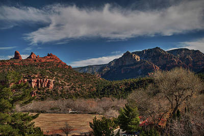 Poster featuring the photograph Sedona Arizona 001 by Lance Vaughn