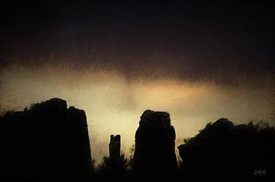 Sedona Landscape Xx Poster by David Gordon