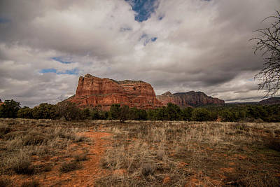 Poster featuring the photograph Sedona National Park Arizona Red Rock 2 by David Haskett
