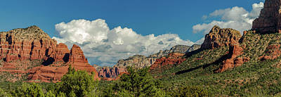 Sedona Panoramic II Poster by Bill Gallagher