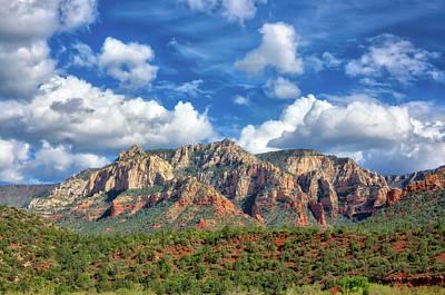 Sedona Red Rocks Scenic View Poster