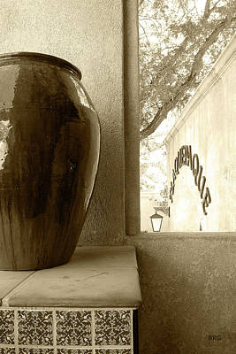Poster featuring the photograph Sedona Series - Jug And Window by Ben and Raisa Gertsberg