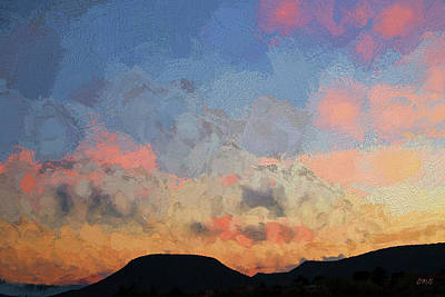 Sedona Sunset - Painterly Poster
