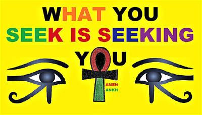 Seeking Poster