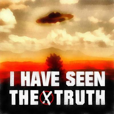 Seen The Truth Poster by Esoterica Art Agency