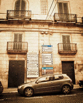 Segnali Stradali Poster