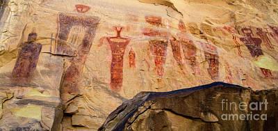 Sego Petroglyphs Utah 3 Poster by Bob Christopher