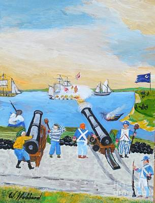 Seige Of Charleston, Sc Poster by Bill Hubbard
