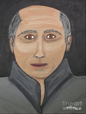 Poster featuring the painting Self by Jeffrey Koss