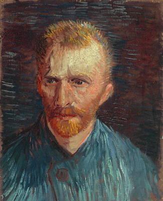 Self Portrait 1887 07 Poster by Vincent Van Gogh