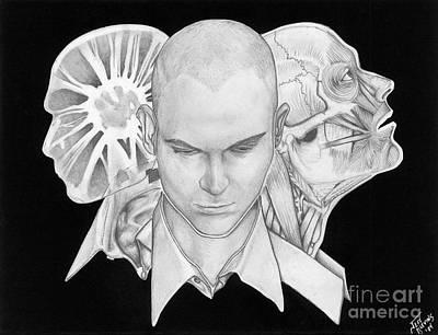 Self Portrait Poster by Jeff  Blevins