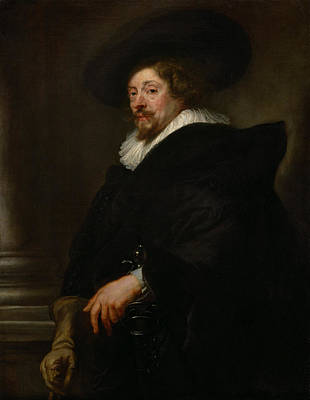 Self Portrait Poster by Pieter Paul Rubens