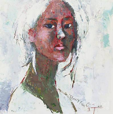 Self Portrait 1503 Poster by Becky Kim