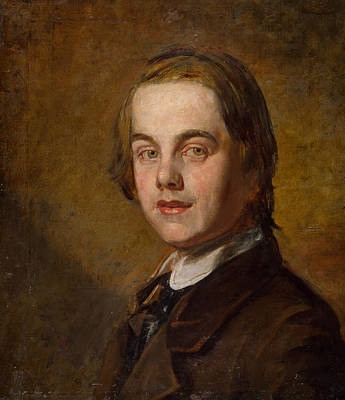 Self-portrait Poster by William Holman Hunt